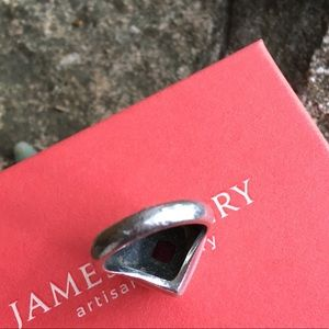 James Avery Jewelry - James Avery gold, silver and garnet ring
